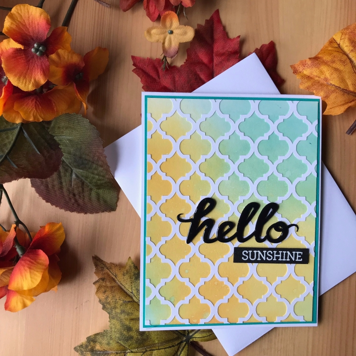 """Hello Sunshine"" Card"