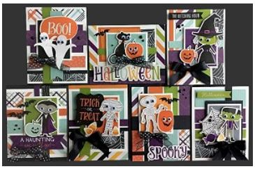 Spooky Halloween Card Kit by Kim's Card Kit
