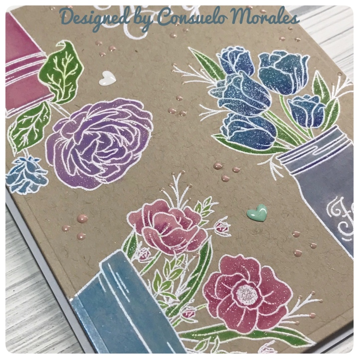 "More ""Mandy's Flowers"" & Giveaway – Simon Says Stamp August 2018 Kit"
