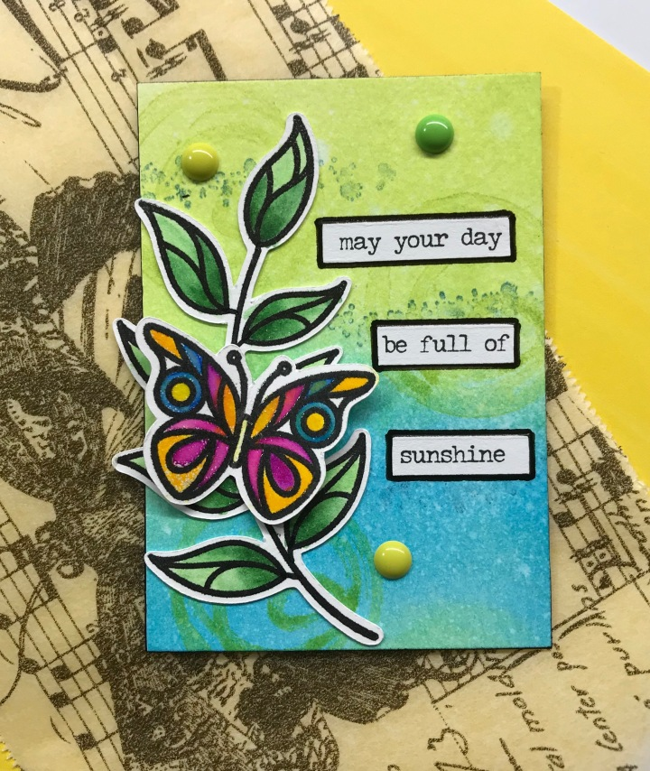 Fly Away ATC Cards