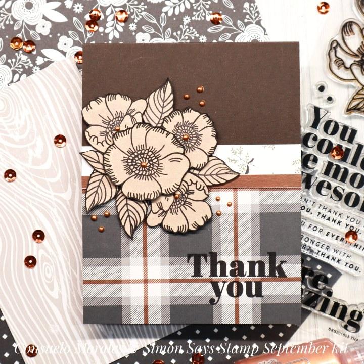 Thankful Flowers – Simon Says October 2019 CardKit
