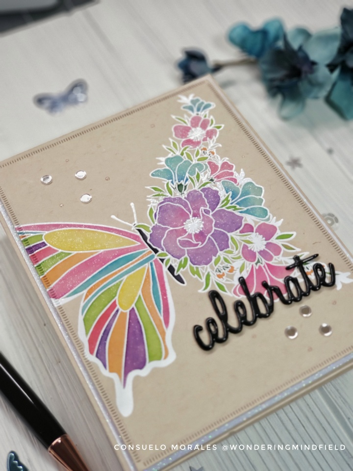"""""""Butterfly Transformation"""" Card"""