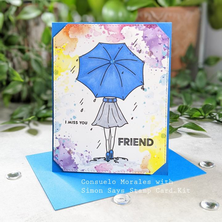 "Simon Says April 2020 ""Follow the Rainbows"" Card Kit – Part 2"